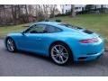 Porsche 911 Carrera 4 Coupe Miami Blue photo #5