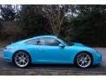 Porsche 911 Carrera 4 Coupe Miami Blue photo #8