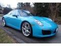 Porsche 911 Carrera 4 Coupe Miami Blue photo #9