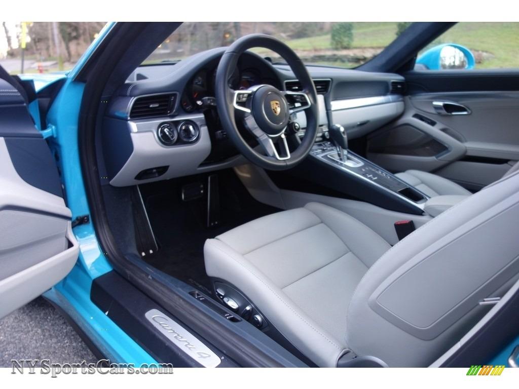 2017 Porsche 911 Carrera 4 Coupe In Miami Blue Photo 14 106232 Nysportscars Com Cars For