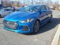 Hyundai Elantra Sport Electric Blue photo #1