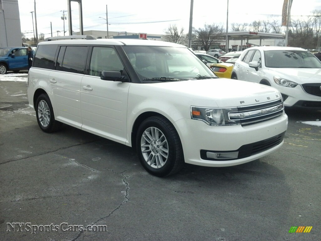 2014 Flex SEL AWD - Oxford White / Charcoal Black photo #1