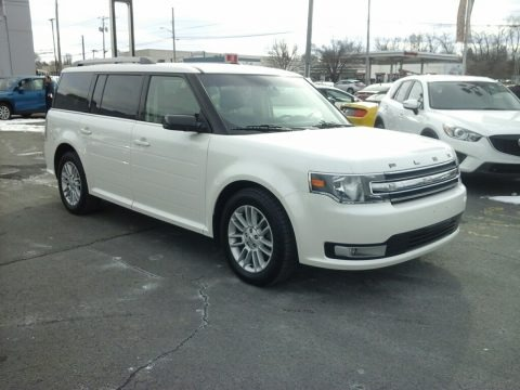 Oxford White 2014 Ford Flex SEL AWD