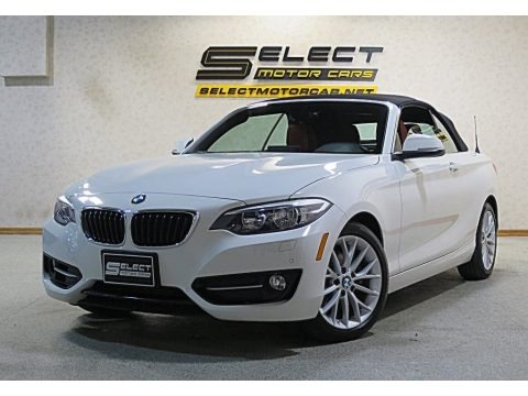 Alpine White 2016 BMW 2 Series 228i xDrive Convertible