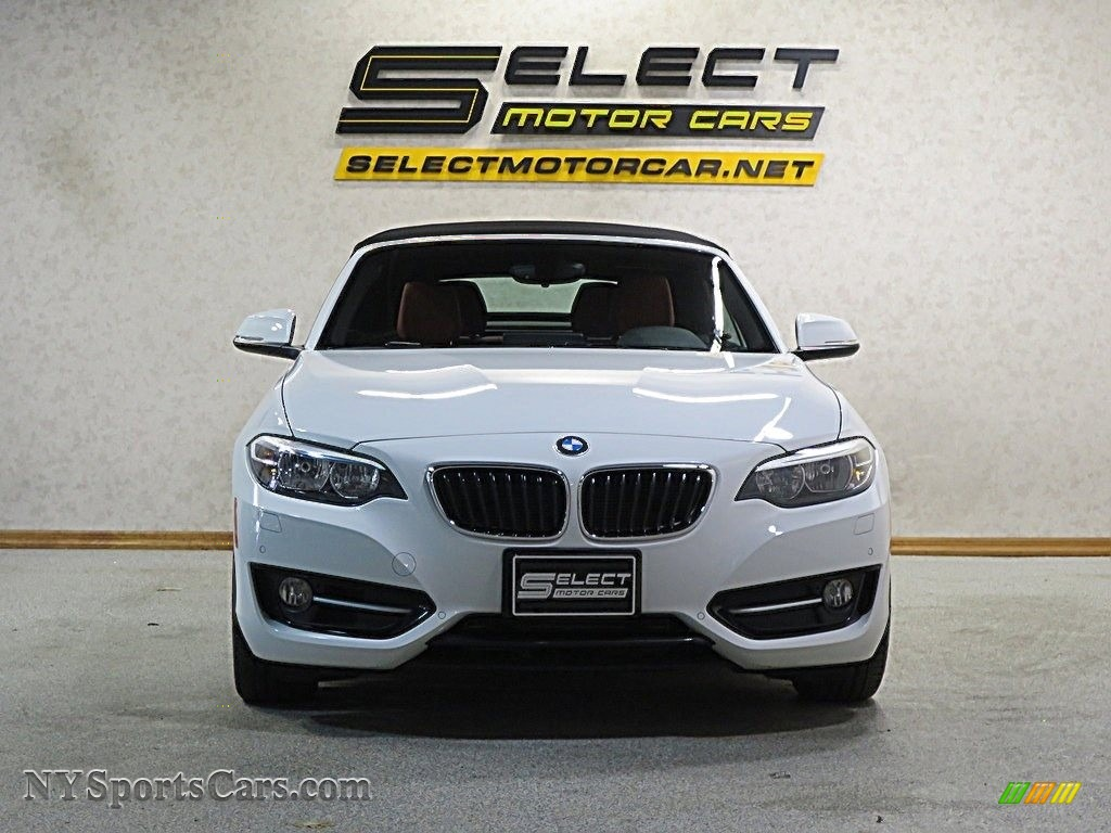 2016 2 Series 228i xDrive Convertible - Alpine White / Coral Red photo #2