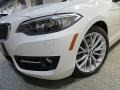 BMW 2 Series 228i xDrive Convertible Alpine White photo #11