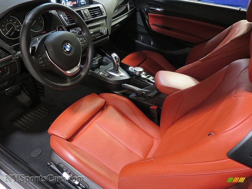 2016 2 Series 228i xDrive Convertible - Alpine White / Coral Red photo #16