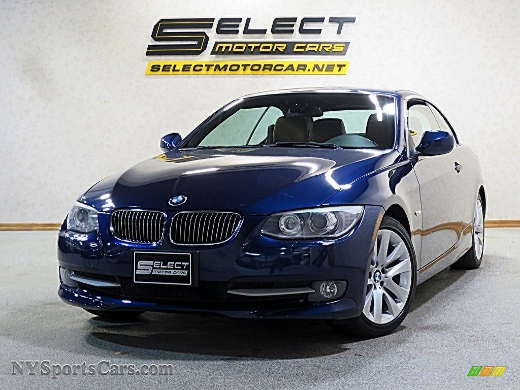 2011 3 Series 328i Convertible - Deep Sea Blue Metallic / Saddle Brown Dakota Leather photo #1