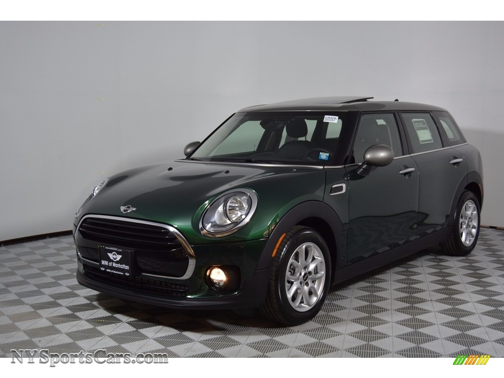 2017 Clubman Cooper - British Racing Green II Metallic / Carbon Black photo #1