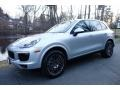 Porsche Cayenne Platinum Edition Rhodium Silver Metallic photo #1