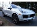 Porsche Cayenne Platinum Edition Rhodium Silver Metallic photo #8