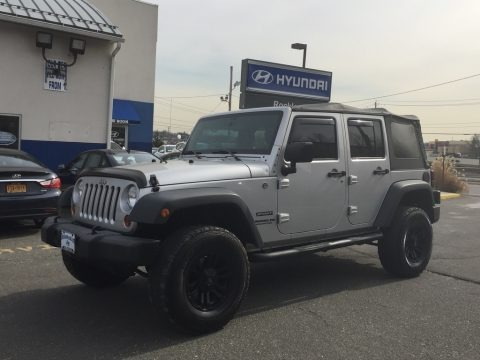 Bright Silver Metallic 2012 Jeep Wrangler Unlimited Sport 4x4