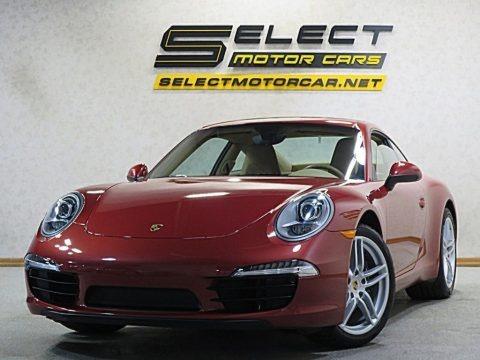 Amaranth Red Metallic 2013 Porsche 911 Carrera Coupe