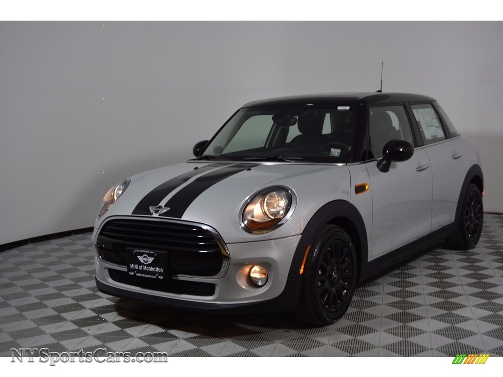 2017 Hardtop Cooper 4 Door - White Silver Metallic / Carbon Black photo #1