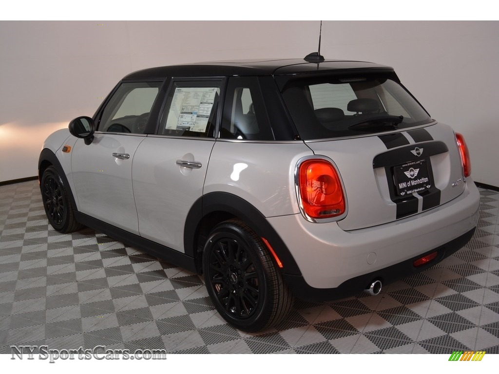 2017 Hardtop Cooper 4 Door - White Silver Metallic / Carbon Black photo #4