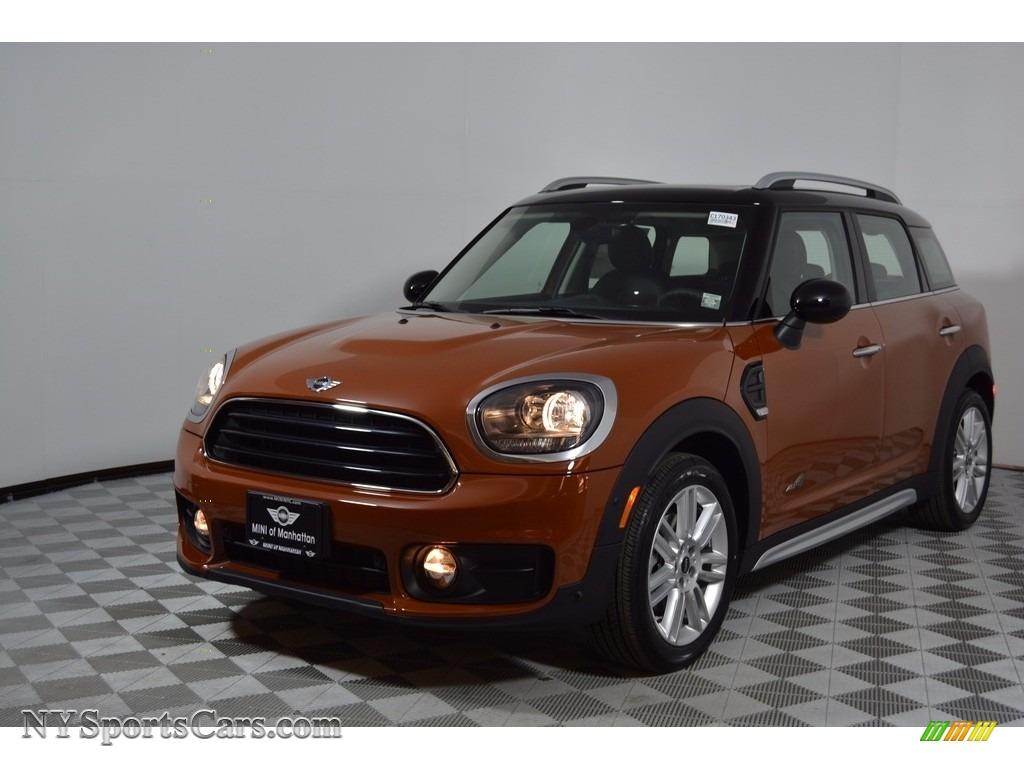 2017 Countryman Cooper ALL4 - Chestnut / Carbon Black photo #1
