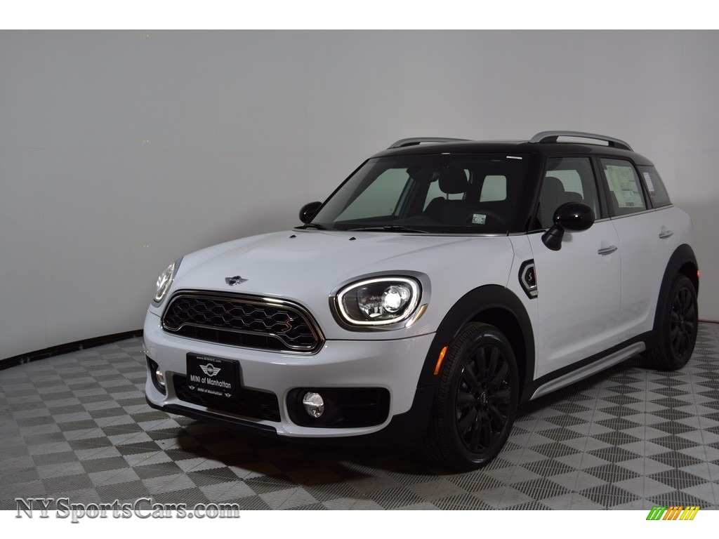 Light White / Double Stripe Carbon Black Mini Countryman Cooper S