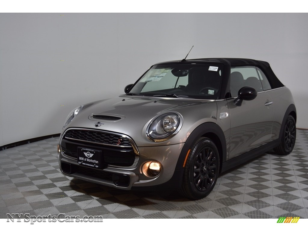 2017 Convertible Cooper S - Melting Silver Metallic / Carbon Black photo #1