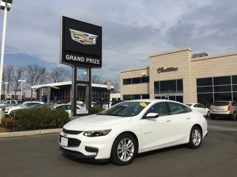 Summit White 2017 Chevrolet Malibu LT
