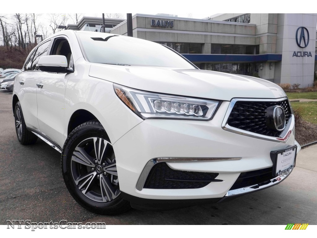 2017 acura mdx sh awd in white diamond pearl 010134 cars for sale in new york. Black Bedroom Furniture Sets. Home Design Ideas