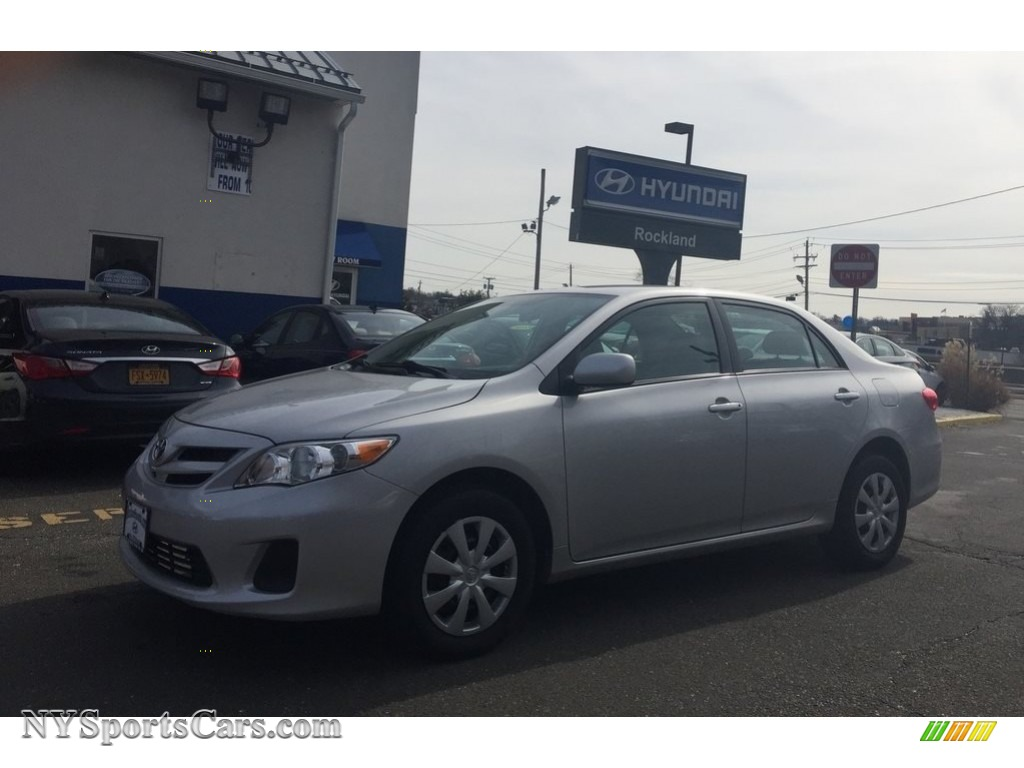 2011 Corolla LE - Classic Silver Metallic / Ash photo #1