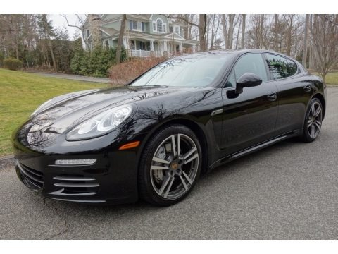 Black 2015 Porsche Panamera 4S