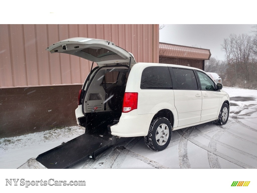 2011 Grand Caravan Express - Stone White / Black/Light Graystone photo #1