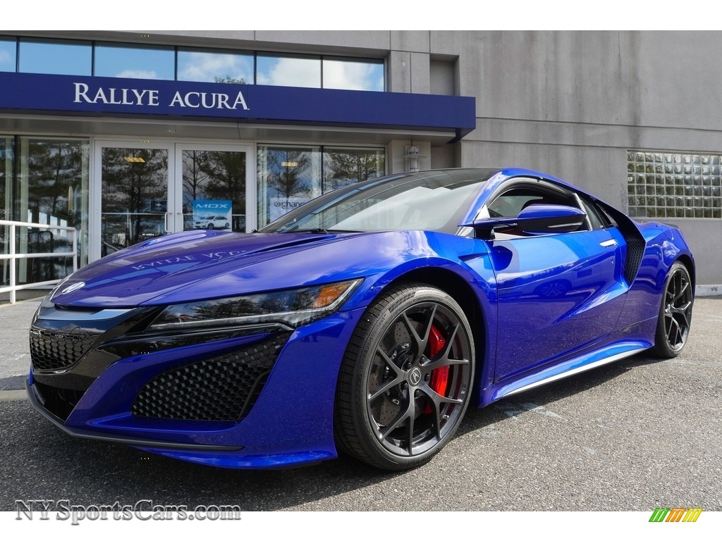 2017 NSX  - Nouvelle Blue Pearl / Red photo #1