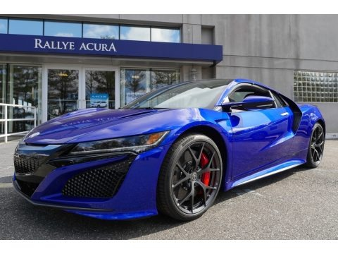 Nouvelle Blue Pearl 2017 Acura NSX