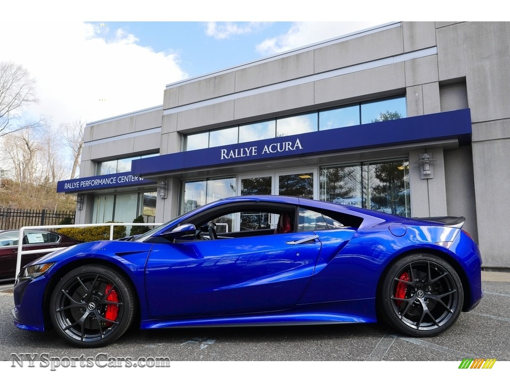 2017 Acura Nsx In Nouvelle Blue Pearl Photo 2 000666 Nysportscars Com Cars For Sale In New York