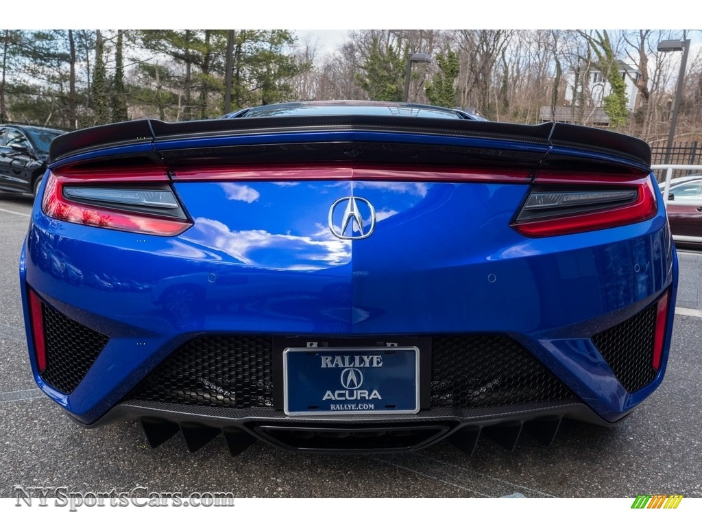 2017 Acura Nsx In Nouvelle Blue Pearl Photo 11 000666 Nysportscars Com Cars For Sale In New York