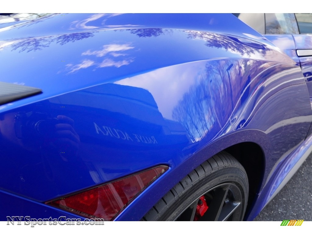 2017 acura nsx in nouvelle blue pearl photo 12 000666. Black Bedroom Furniture Sets. Home Design Ideas