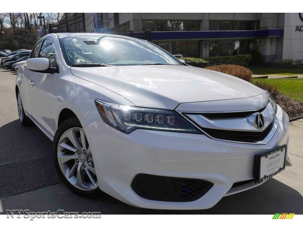 2017 ILX Premium - Bellanova White Pearl / Parchment photo #1