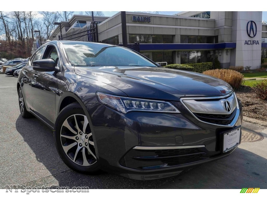 2016 TLX 2.4 - Graphite Luster Metallic / Ebony photo #1