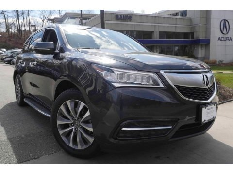 Graphite Luster Metallic 2014 Acura MDX SH-AWD Technology