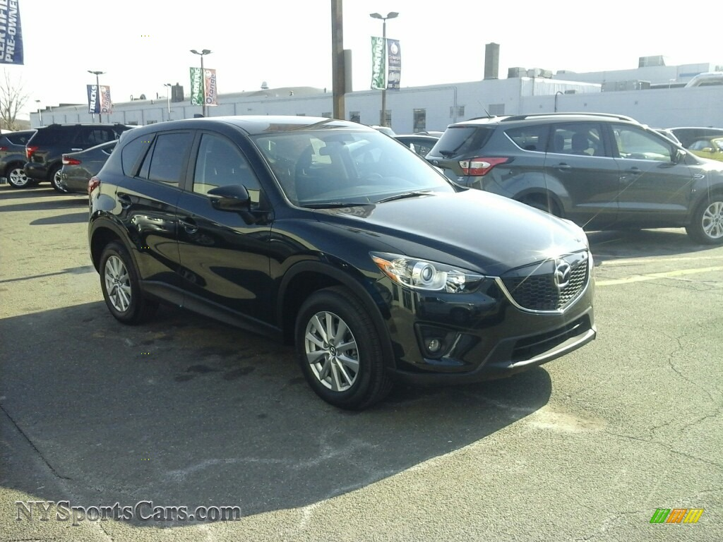2015 CX-5 Touring - Jet Black Mica / Black photo #1