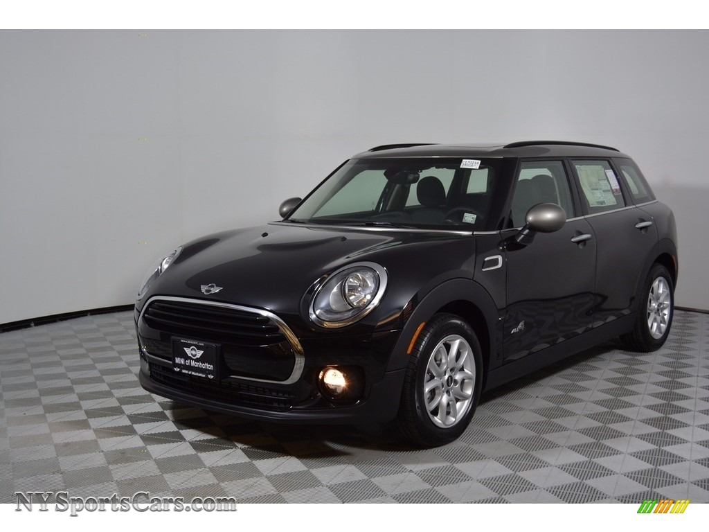 2017 Clubman Cooper ALL4 - Midnight Black Metallic / Carbon Black photo #1