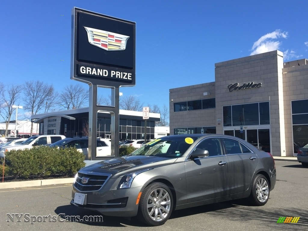 2017 ATS Luxury AWD - Phantom Gray Metallic / Jet Black photo #1