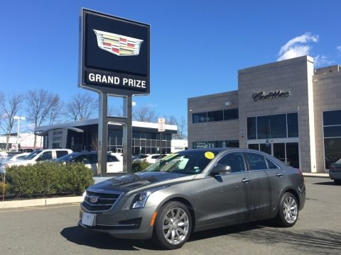 Phantom Gray Metallic 2017 Cadillac ATS Luxury AWD
