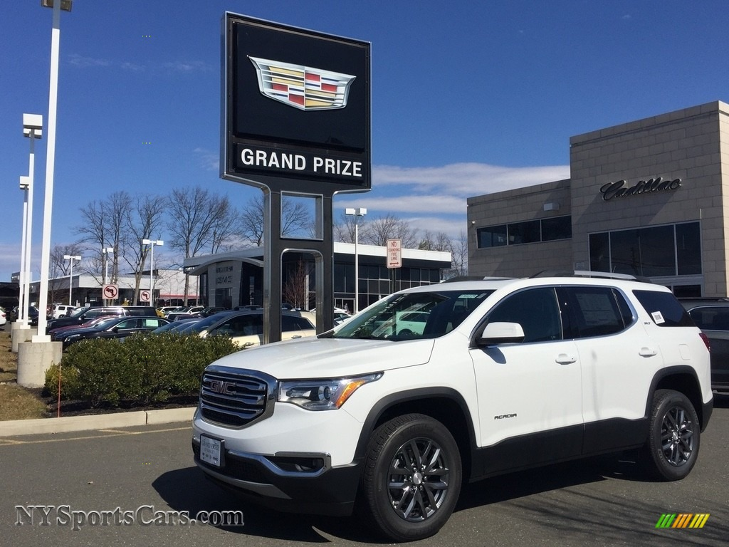 2017 Acadia SLT AWD - Summit White / Jet Black photo #1