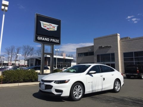 Summit White 2017 Chevrolet Malibu LT