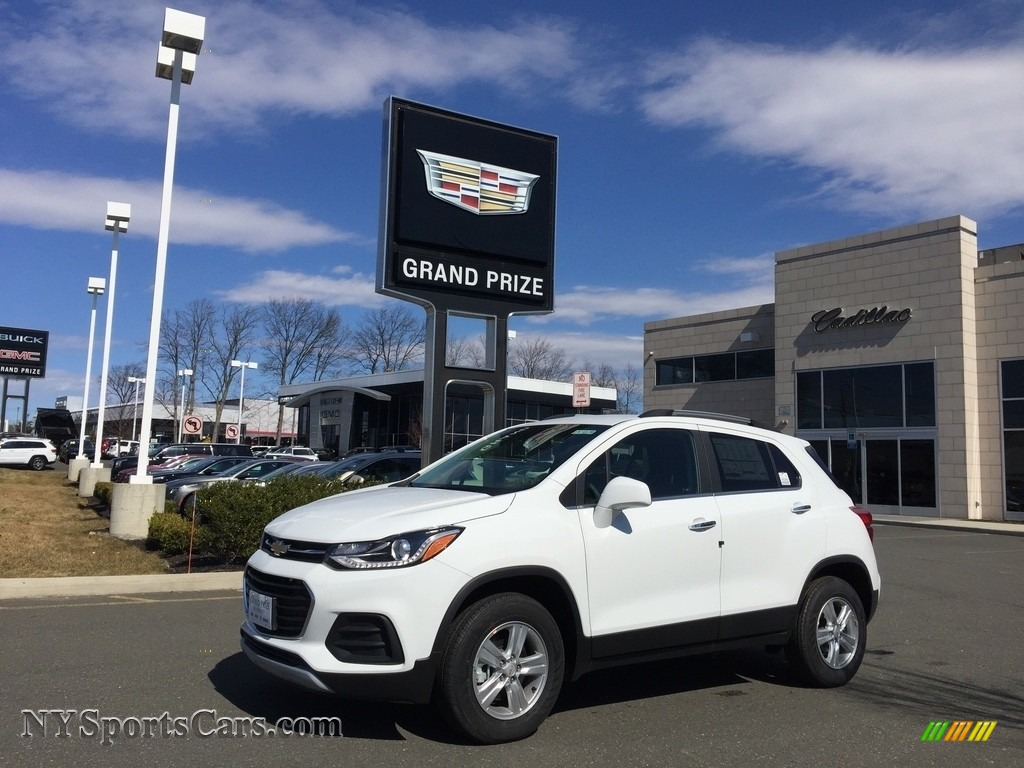 Summit White / Jet Black Chevrolet Trax LT AWD