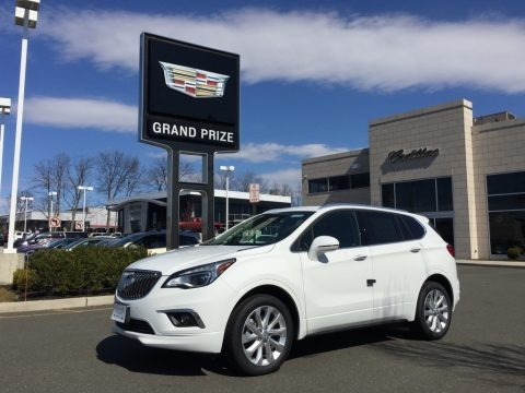 Summit White 2017 Buick Envision Premium AWD