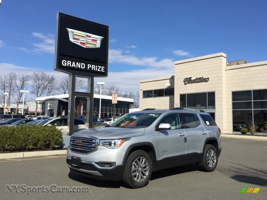2017 Acadia SLE AWD - Quicksilver Metallic / Dark Ash Gray/Light Ash Gray photo #1