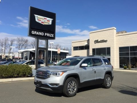 Quicksilver Metallic 2017 GMC Acadia SLE AWD