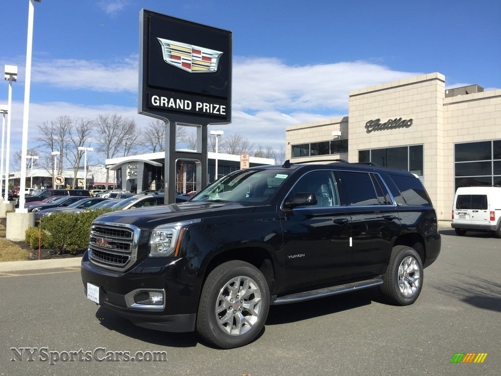 2017 Yukon SLT 4WD - Onyx Black / Jet Black photo #1