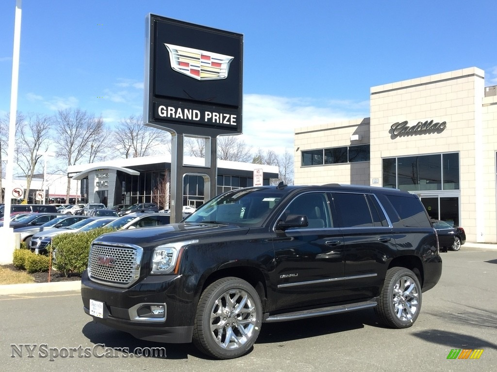 2017 Yukon Denali 4WD - Onyx Black / Jet Black photo #1