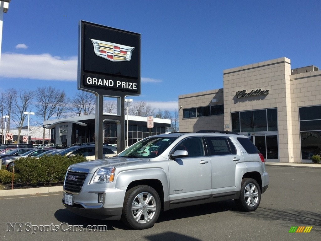 Quicksilver Metallic / Jet Black GMC Terrain SLE AWD