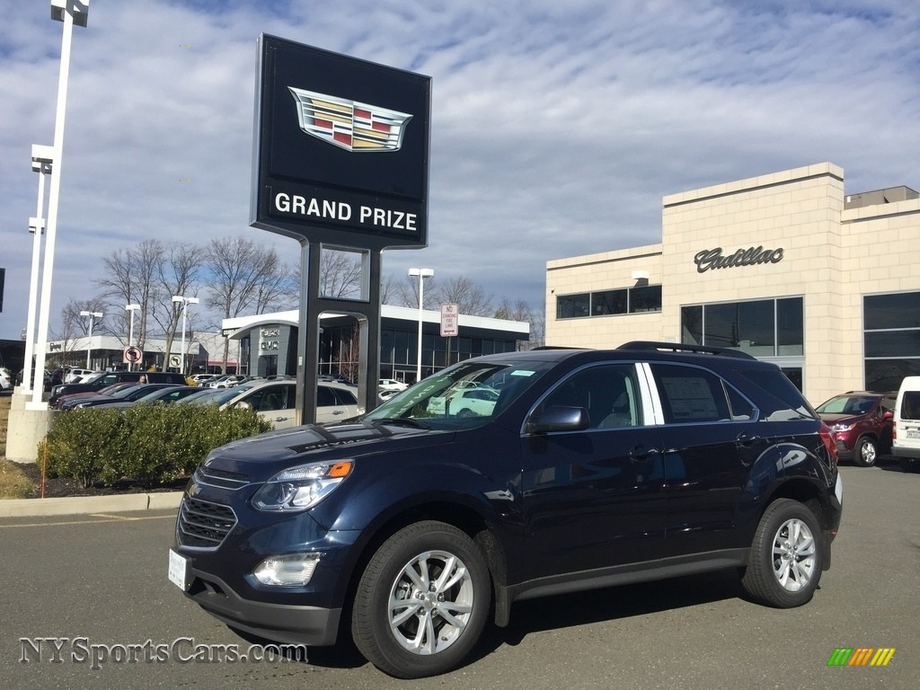 2017 Equinox LT AWD - Blue Velvet Metallic / Jet Black photo #1
