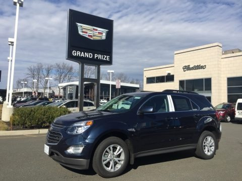 Blue Velvet Metallic 2017 Chevrolet Equinox LT AWD